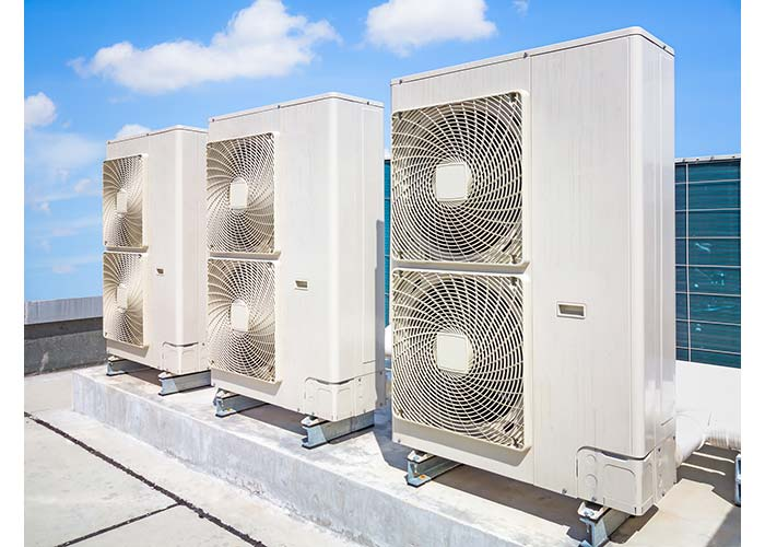 air conditioner for commercial building in Spring TX